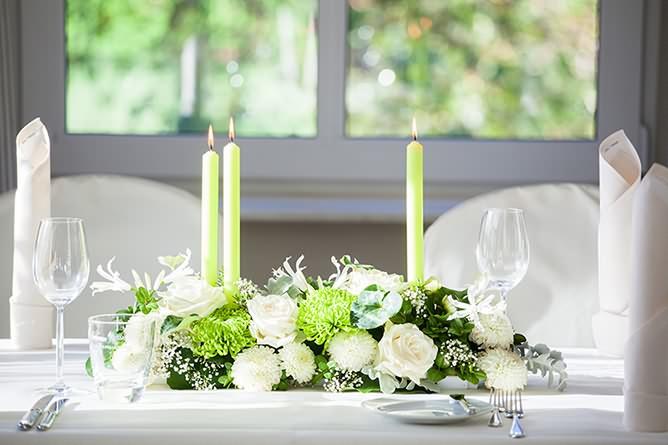 Blumen Odenthal Tischdekoration