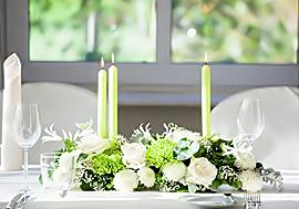 Blumen Tisch Dekoration